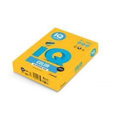 Mondi Farebný papier IQ color slnečne žltý SY40, A4 80g
