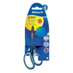 Pelikan Nožnice Griffix pre pravákov v blistri modré