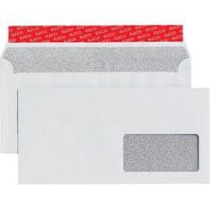 Elco Poštové obálky C6/5 s páskou, okienko vpravo, 500 ks