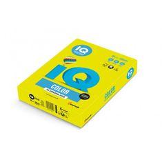 Mondi Farebný papier IQ color neónovo žltý NEOGB, A4 80g