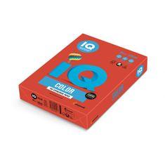 Mondi Farebný papier IQ color korálovo červený CO44, A4 80g