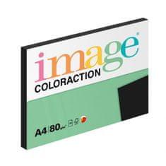 Farebný papier Image Coloraction A4 80g čierny 100 hárkov