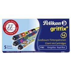 Pelikan Bombičky Griffix 4 modré 5ks
