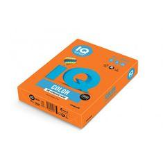 Mondi Farebný papier IQ color oranžový OR43, A4 160g