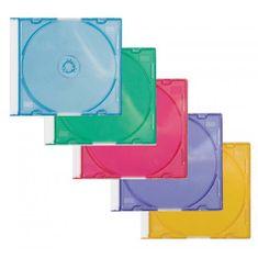 Q-Connect Farebné obaly na CD/DVD