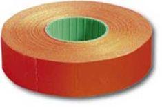 Motex Etikety 16x23 pre1623 cenovka neónovočervená