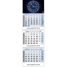 Spektrum Grafik Plánovací kalendár Klasik 3-mesačný modrý, 295x870 mm 2020