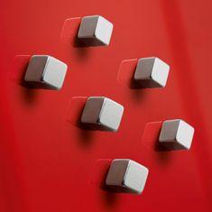 Sigel Magnety na sklenené tabule , dizajn kocka 6ks