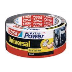 Tesa Textilná páska silne lepiaca čierna 50mmx25m