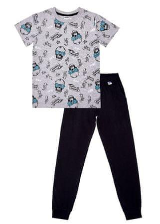 WINKIKI fantovska pižama, siva/črna, 128