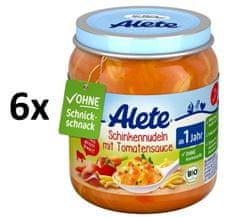 ALETE BIO Cestoviny so šunkou v zeleninovej omáčke - 6x250g