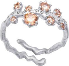 Preciosa Srebrni prstan Tilia 5282 61 srebro 925/1000