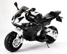 Beneo Elektrická Motorka BMW S 1000 RR, Licencované, 12 V, EVA měkké kola, kovový rám, pomocná kolečka