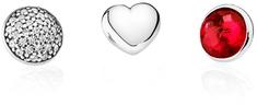 Pandora Julijski okrasni elementi 792091SRU srebro 925/1000
