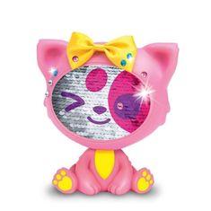 Giochi Preziosi The Zequins růžová kočka Shimmy 14 cm