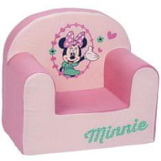 Disney dětské čalouněné křeslo s motivem Minnie