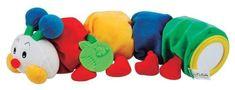 K´s Kids Stonožka s kousátkem na prořezávání prvních zoubků, 48 cm