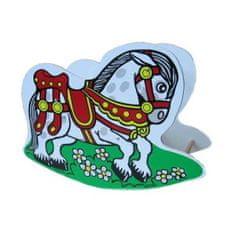 Jaroš Dřevěný houpací kůň