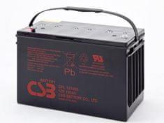 CSB  12V 100Ah olověný akumulátor M6/M8 (10 let) (GPL121000)
