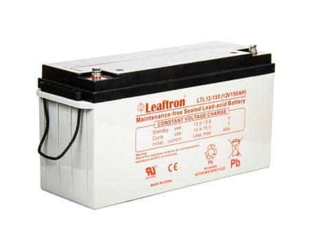 Leaftron  12V 150Ah olověný akumulátor M8 (10 let) (LTL12-150)