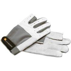 LTH Rukavice Roadie Pro, velikost XL, světle šedé