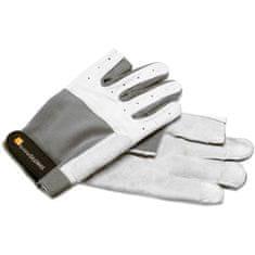 LTH Rukavice Roadie Pro, velikost L, světle šedé