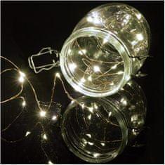 LYYT Lyyt BLC50CW dekorační osvětlení na baterie, 50x LED studená bílá