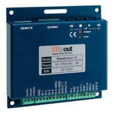 INUT  Panel Player P-01EK Přehrávač MP3