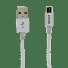 Energizer nabíjecí a synchronizační kabel Hightech microUSB cable 1,2m White