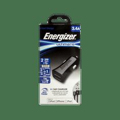 Energizer Ładowarka samochodowa Ultimate 3.4A 2USB czarna