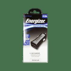 Energizer Ładowarka samochodowa Ultimate 4.8A 2USB czarna