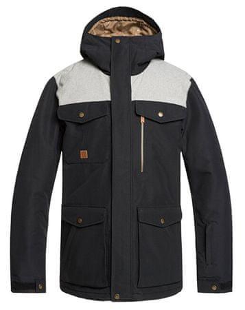 Quiksilver Férfi kabát Raft Jk Black EQYTJ03227 KVJ0 (méret