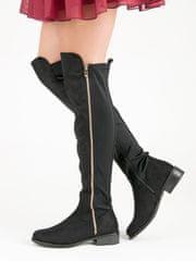 Stylomat Černé boty se zipem