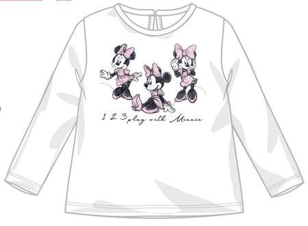 Disney by Arnetta dekliška majica, bela, 86