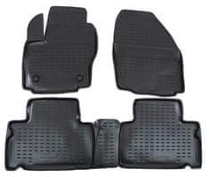 J&J Automotive Gumové koberce se zvýšeným okrajem Ford S-MAX 2006-2015