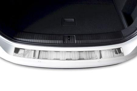 Croni Rozsdamentes acél lökhárító védőburkolat Volkswagen Touran II 5T 2016- magasabb