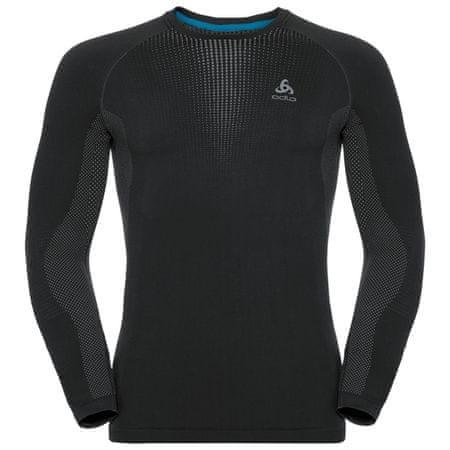 ODLO Performance Warm moška majica, 60064, S, črna/siva