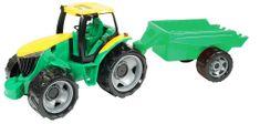 LENA Lena Traktor bez lžíce a bagru s přívěsem