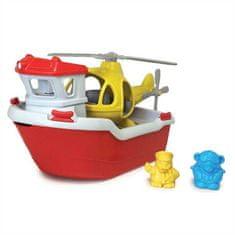 Green Toys  Záchranná loď s helikoptérou
