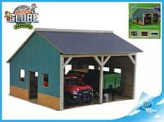 Mikro Trading Dřevěná garáž pro traktory 1:16