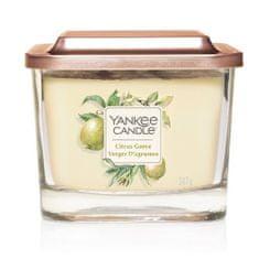 Yankee Candle Aromatická svíčka střední hranatá Citrus Grove 347 g