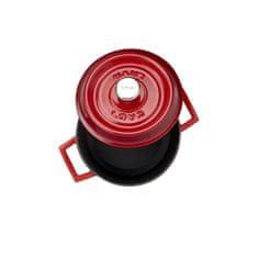 Lava Litinový hrnec kulatý 14cm - červený LVYTC14K2R