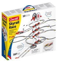 Quercetti Skyrail Race parallel track racing - dvojitá závesná guličková dráha
