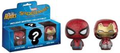 Figúrka Spider-Man: Homecoming - Spider-Man + Ironman (Funko Pint Size Heroes)