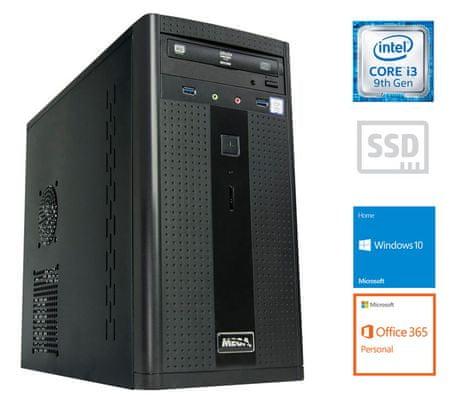 MEGA 2000 namizni računalnik (PC-G2392W365) + 1 leto Office 365