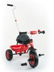 MILLY MALLY Dětská tříkolka Milly Mally Boby TURBO red