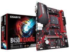 Gigabyte B450M GAMING, DDR4, SATA3, USB 3.1 Gen1, AM4, mATX osnovna plošča