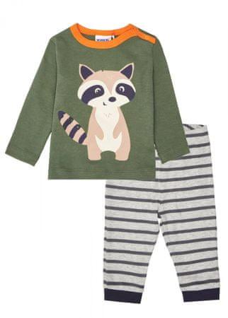 WINKIKI fantovska pižama, 74, khaki/gray melange