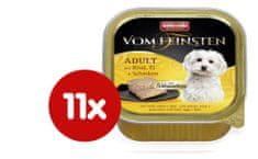 Animonda V.Feinsten hrana za odrasle pse Core, govedina, jajca in šunka, 11 x 150 g