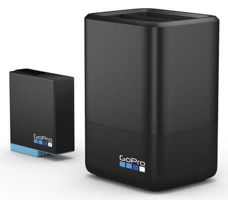 GoPro ładowarka Dual Battery Charger + Battery (HERO8 Black / HERO7 Black / HERO6 Black) (AJDBD-001-EU)